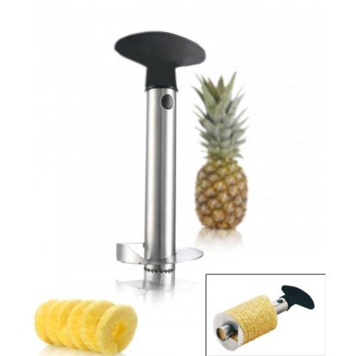 D coupe ananas inox baumalu d coupe fruits et legumes for Decoupe fruit decoration