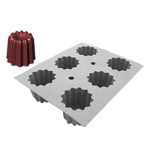 moule silicone elastomoule 6 canneles