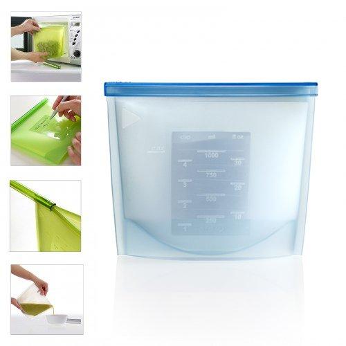 sac de cong lation et conservation silicone moule a pain plaque a pain kookit ustensiles de. Black Bedroom Furniture Sets. Home Design Ideas