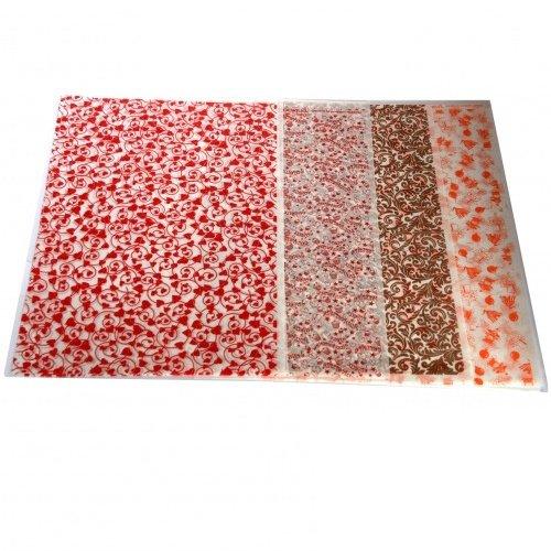 feuilles de d 233 coration pour chocolats et g 226 teaux x6 scrapcooking kookit