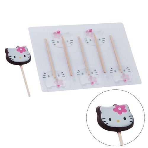 moule sucettes hello kitty scrapcooking kookit. Black Bedroom Furniture Sets. Home Design Ideas