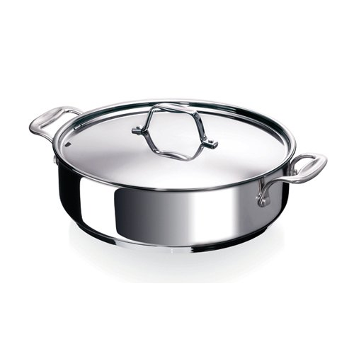 sauteuse inox chef couvercle 28 cm beka sauteuse kookit ustensiles de cuisine. Black Bedroom Furniture Sets. Home Design Ideas