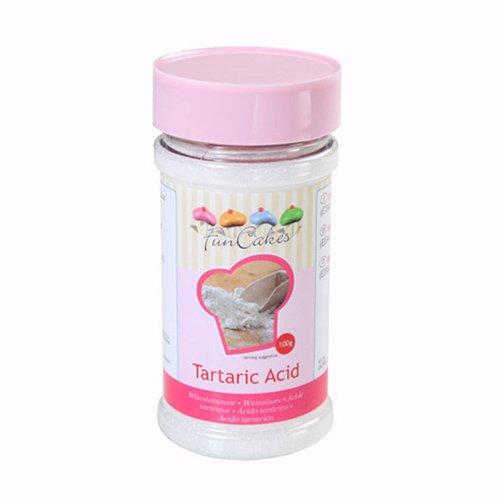 Acide tartrique 100g funcakes kookit for Acide tartrique en cuisine