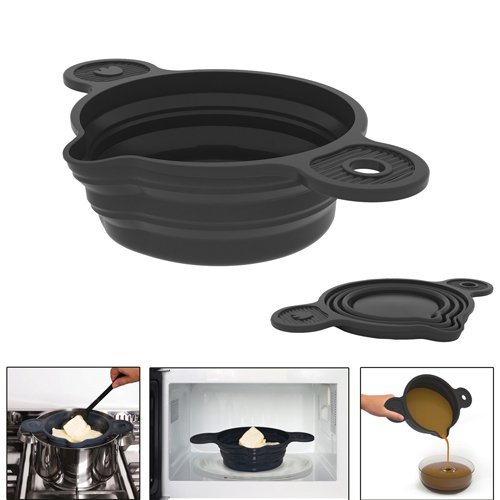 casserole creuset bain marie silicone r tractable pavonidea kookit. Black Bedroom Furniture Sets. Home Design Ideas
