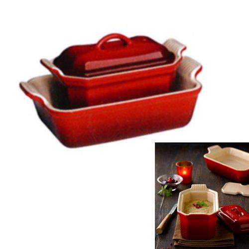 coffret foie gras terrine 0 6l plat bain marie le. Black Bedroom Furniture Sets. Home Design Ideas