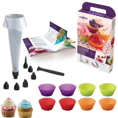 Kit cupcakes mastrad kookit for Kit ustensiles cuisine