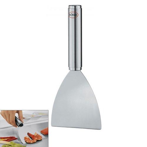 Racloir inox pour plancha r sle kookit for Planche inox pour cuisine