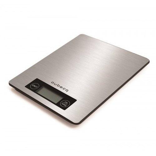 Balance De Cuisine Flat Inox 5kg Aubecq Kookit