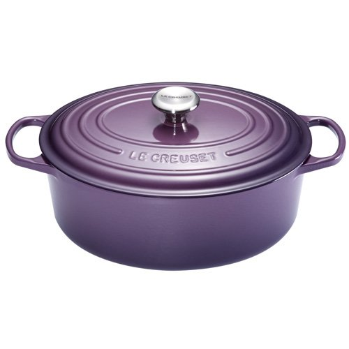 cocotte fonte ovale 27 cm cassis le creuset kookit. Black Bedroom Furniture Sets. Home Design Ideas